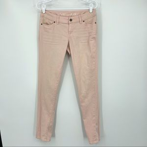 The Limited Light Pink Skinny Jeans Size 4